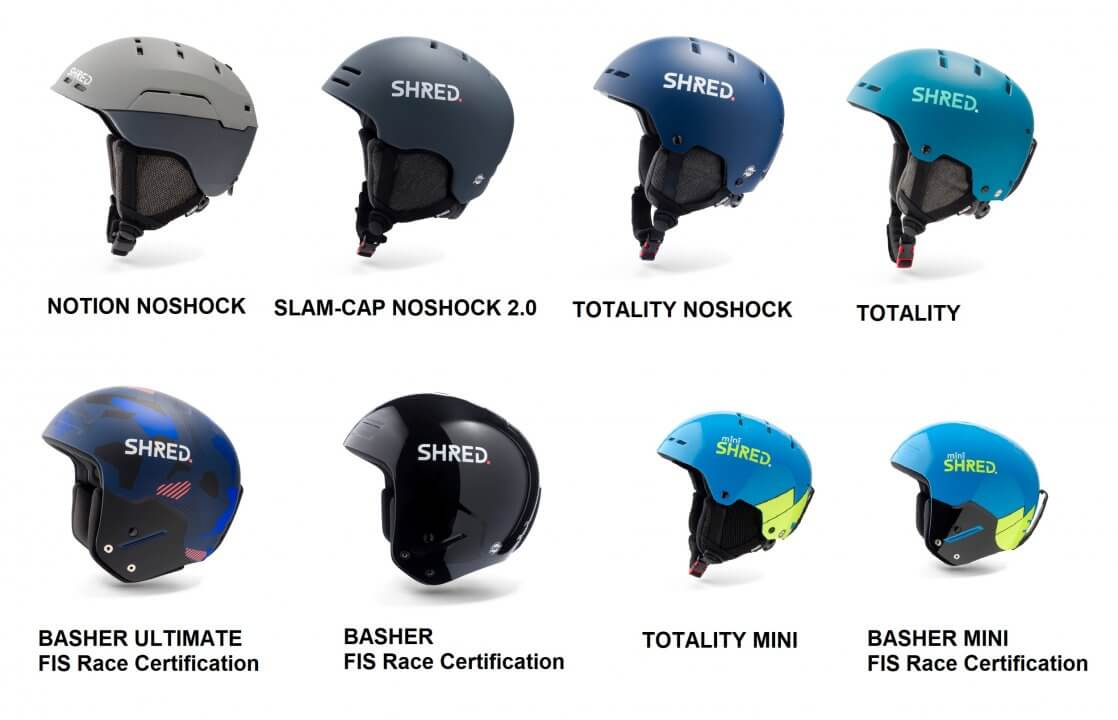 SHRED.-Helmet-Collection
